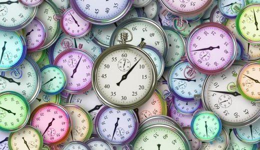 忙しさを表す沢山の時計