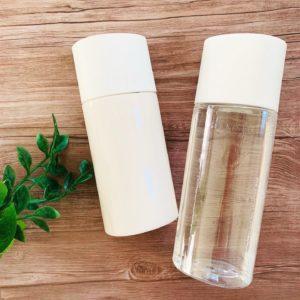 雪肌精クリアウェルネスのフリータイプ「化粧水」と「乳液」