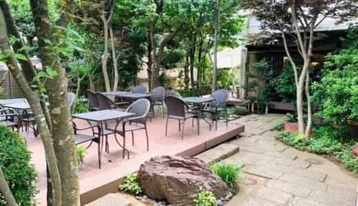 くに作の庭園テラス席