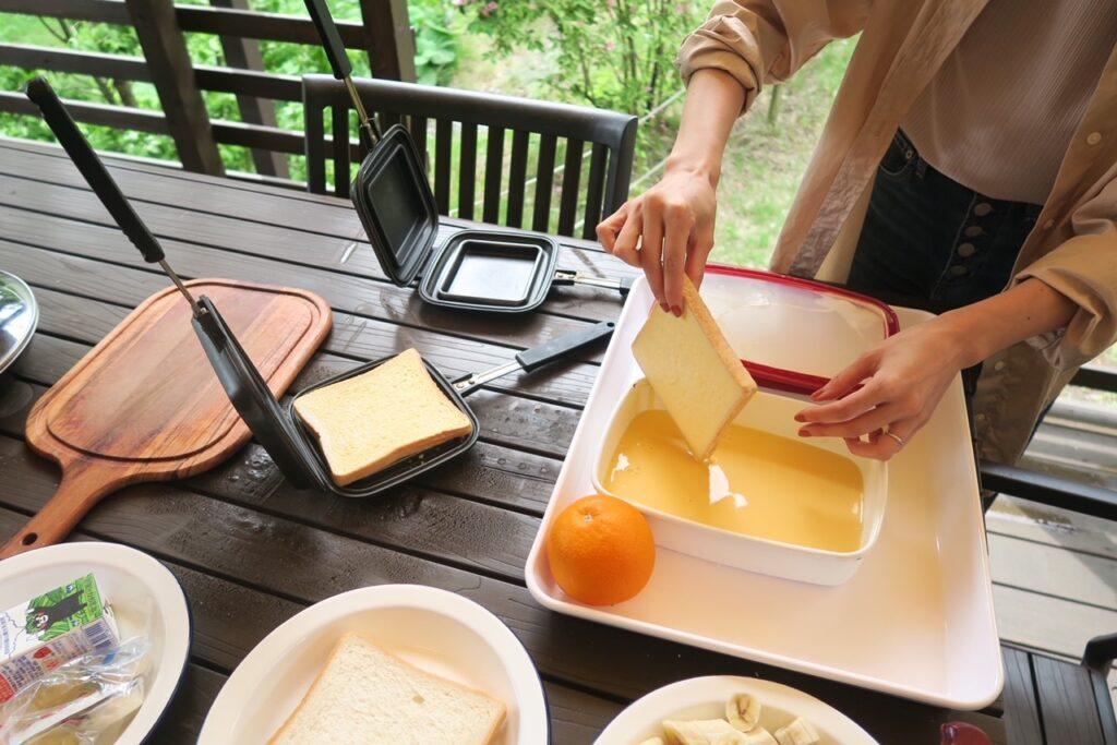 PICA Fujiyamaの朝食